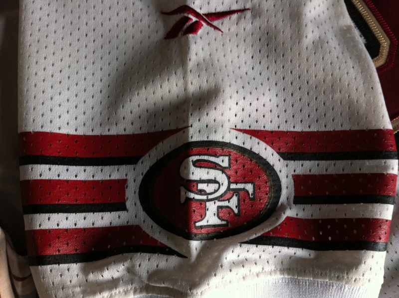 1995? Jerry Rice SF 49ers white jersey Img_0215