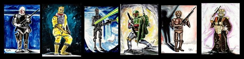 Star Wars paintings Bounty11