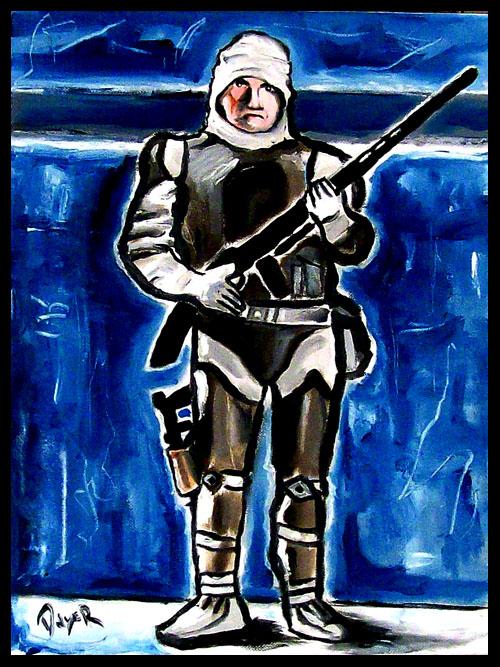 My new Dengar painting.... Dengar12