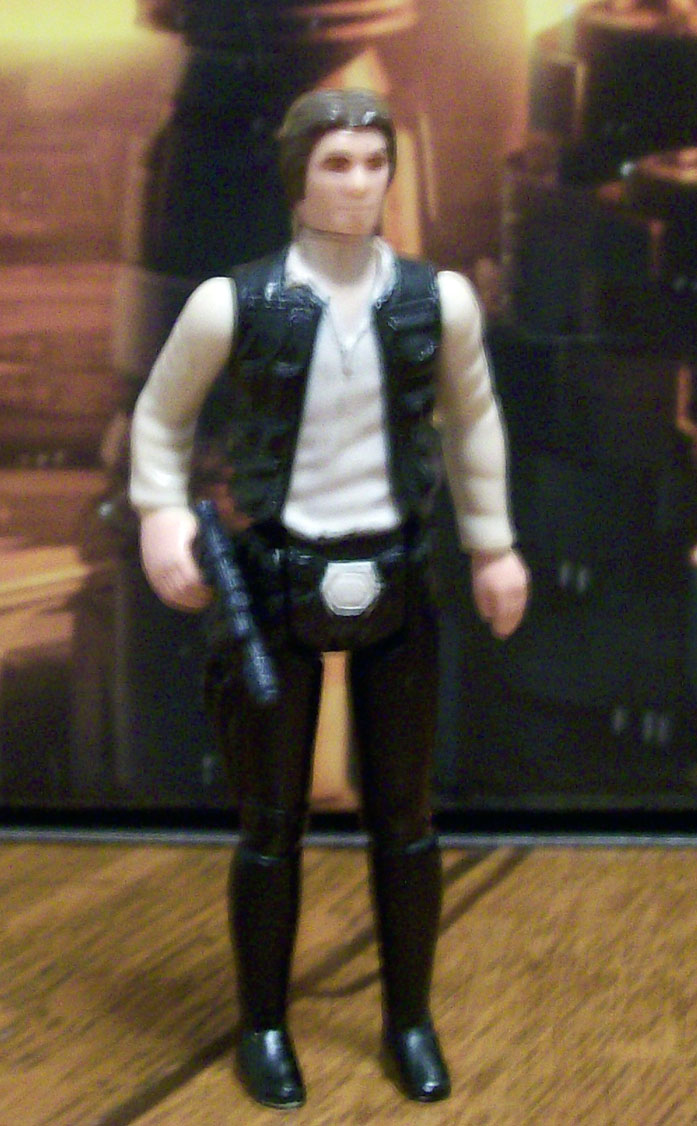 Vintage Han Solo Small Head White Legs Han_wh12