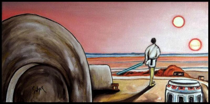Star Wars paintings Luke_p10