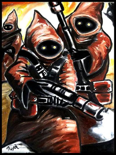 Star Wars paintings The_ja13