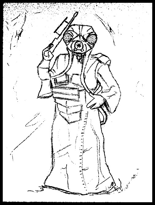 Zuckuss sketch for new painting..... Zuckus10