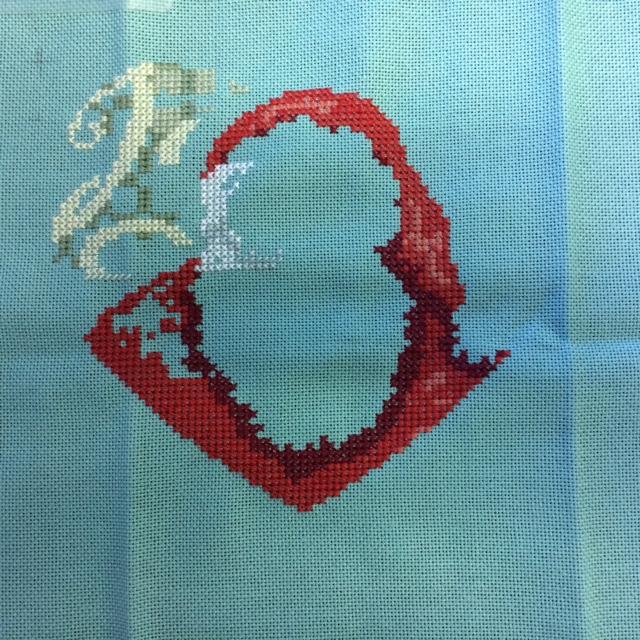 Coeur Père Noël-Mme La fée Terminé 28/02/2020 26-08-11