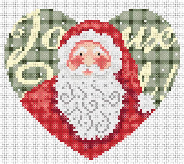 Coeur Père Noël-Mme La fée Novembre 2019 Ptcoeu10