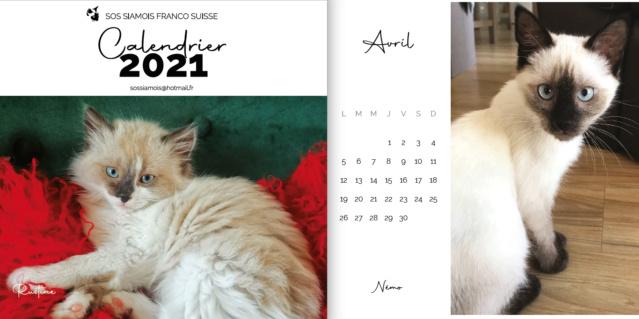 Commandez vos calendriers 2021 ! Captu232