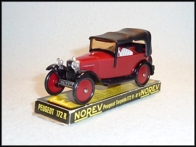 Moyen Age N° 008 - Peugeot Torpédo 172R Moyen-10