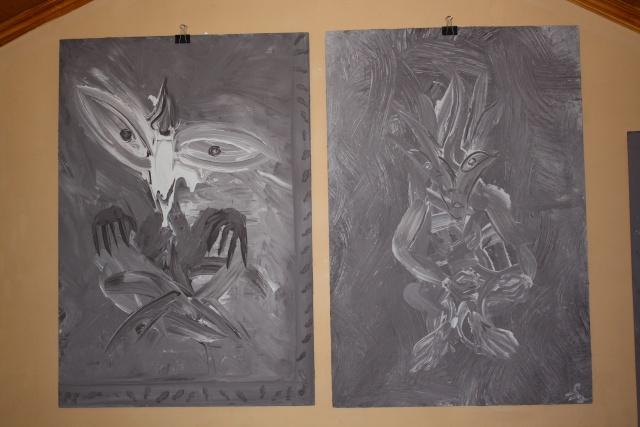 peinture bizzare (chanbre) Chanbr11