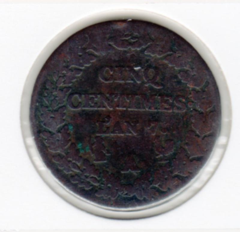 cinq centimes / double cédille 179110