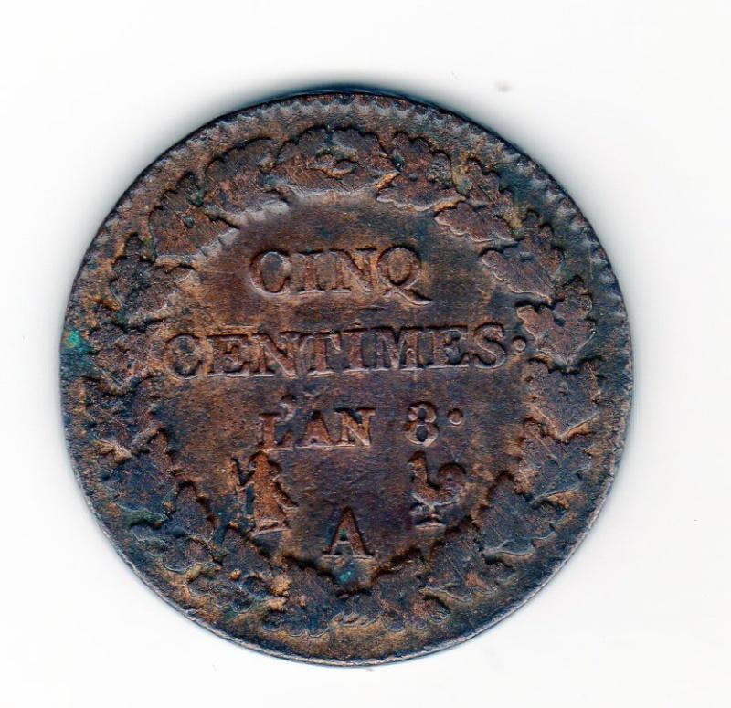 cinq centimes / double cédille An_8_a10