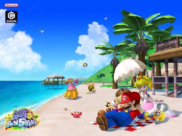Mario Sunshine (GameCube)  00200911