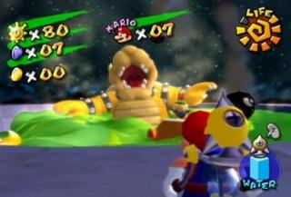 Mario Sunshine (GameCube)  Bowser11