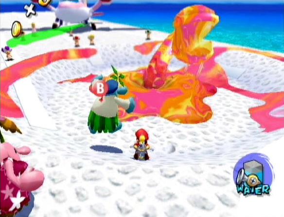 Mario Sunshine (GameCube)  Goopmo10
