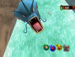 Pokémon Snap  (Nintendo 64  et Wii ware )  Gyarad10