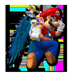 Mario Sunshine (GameCube)  Mario_10