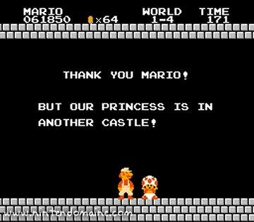 Mario Bros Nes (Présentation et images) Thanks10
