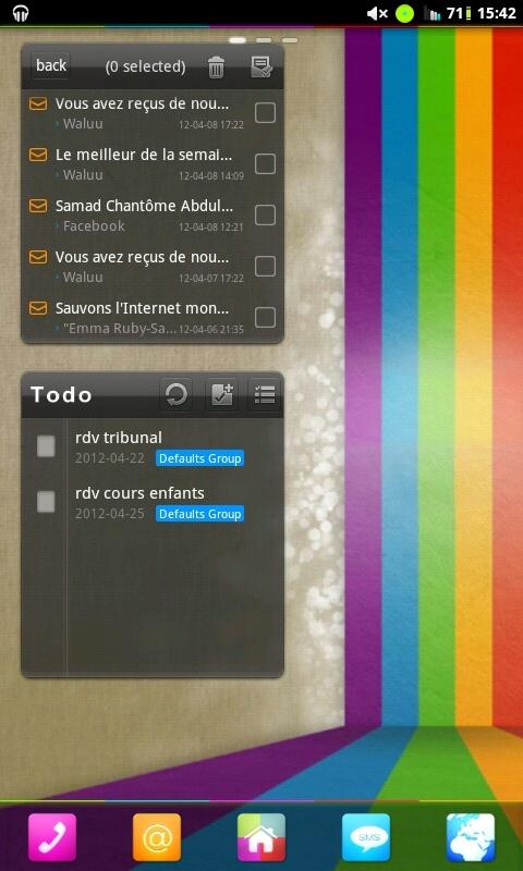 [DISCUSSION] Vos bureaux sur ANDROID [Thèmes, Fonds d'écran, Icônes, ...] - Page 3 Screen19
