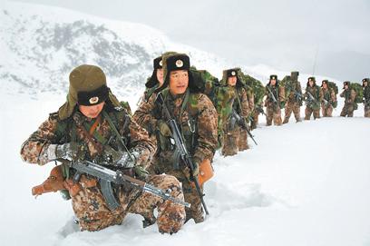 "Type 03 Plateau ""Tibet Flecktarn"" Camo Uniform Xin_0410"