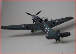 Messerschmitt Bf 109 T-1 (German navy fighter- WWII) Captur46