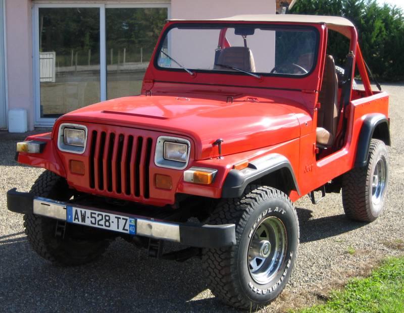 un petit nouveau de la gironde Jeep613