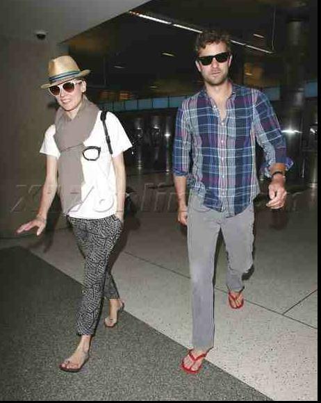 Joshua Jackson y Diane Kruger de vuelta en USA (Junio 2012) 1111