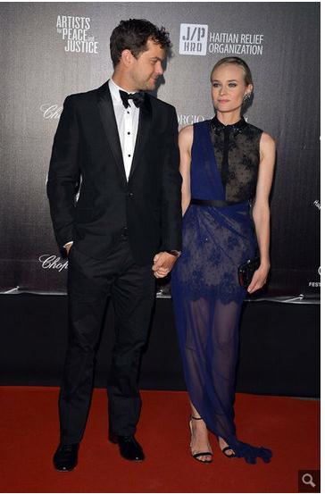 Joshua Jackson y Diane Kruger en Cannes 2012 211