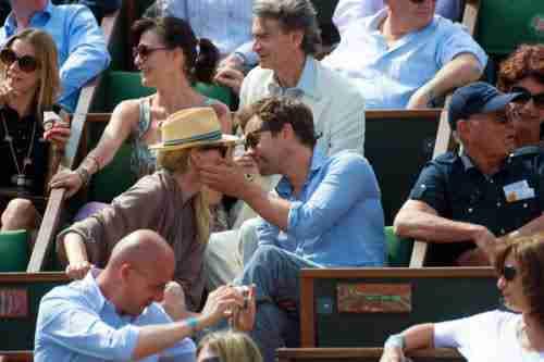 Joshua Jackson (y Diane Kruger) en el torneo de tenis Roland Garros 2jdni910