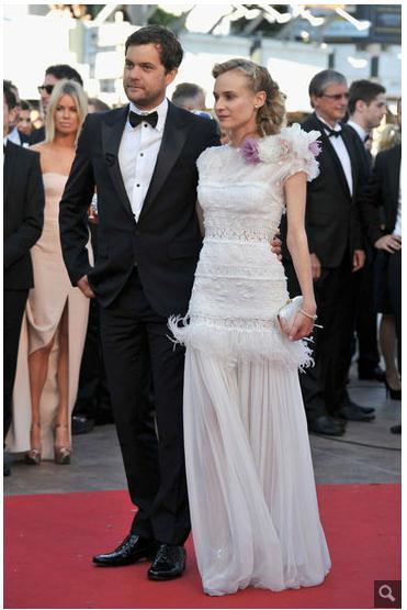 Joshua Jackson y Diane Kruger en Cannes 2012 613
