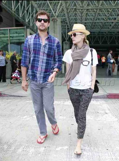 Joshua Jackson y Diane Kruger de vuelta en USA (Junio 2012) 614