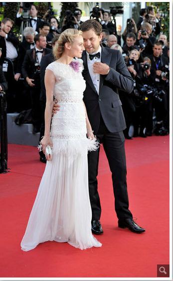 Joshua Jackson y Diane Kruger en Cannes 2012 66610