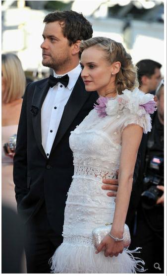 Joshua Jackson y Diane Kruger en Cannes 2012 713
