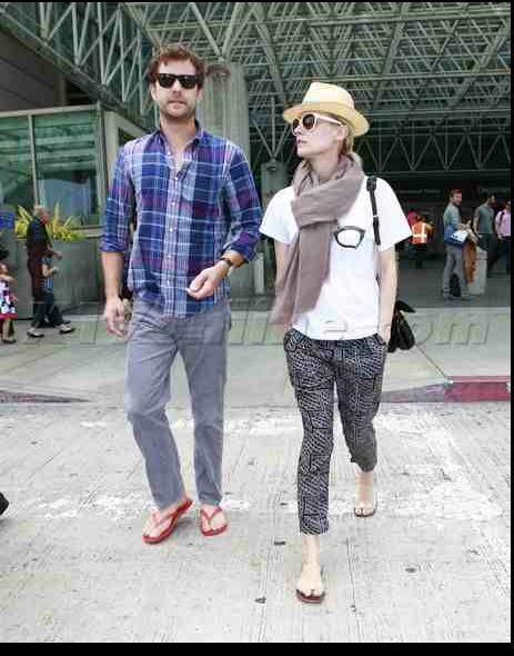 Joshua Jackson y Diane Kruger de vuelta en USA (Junio 2012) 714