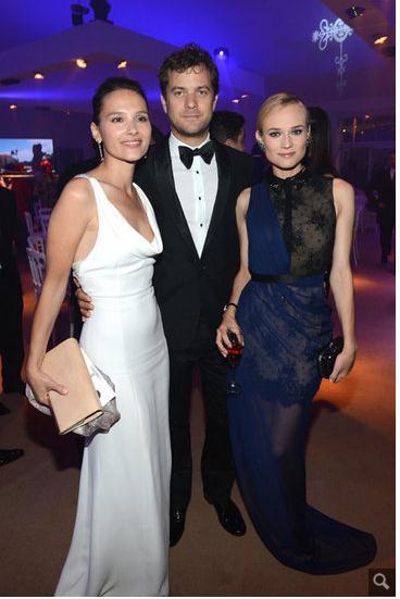 Joshua Jackson y Diane Kruger en Cannes 2012 811