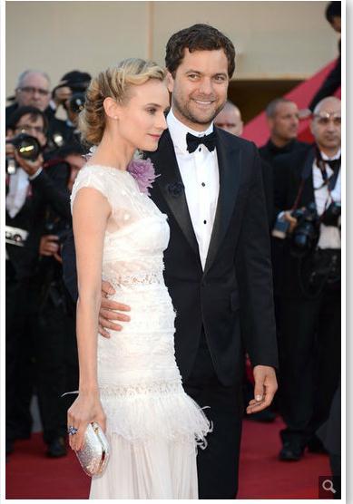Joshua Jackson y Diane Kruger en Cannes 2012 88810