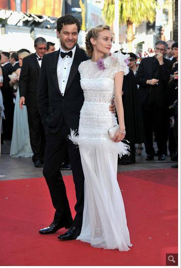 Joshua Jackson y Diane Kruger en Cannes 2012 911
