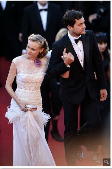 Joshua Jackson y Diane Kruger en Cannes 2012 999910