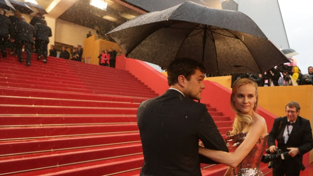 Joshua Jackson y Diane Kruger en Cannes 2012 Cannes10