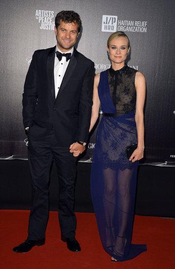Joshua Jackson y Diane Kruger en Cannes 2012 Diane-10