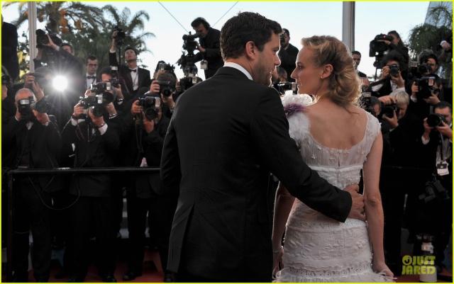 Joshua Jackson y Diane Kruger en Cannes 2012 Diane-12