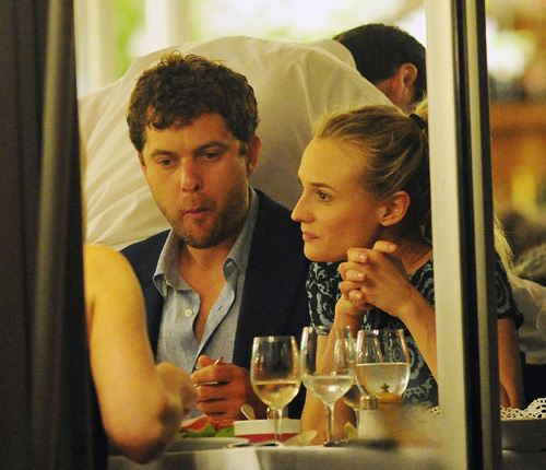 Joshua Jackson y Diane Kruger en Cannes 2012 Diane-15