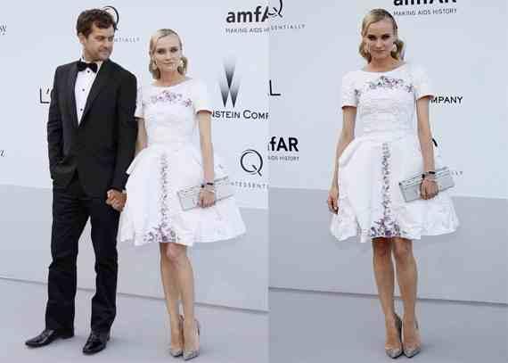 Joshua Jackson y Diane Kruger en Cannes 2012 Diane-21