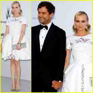 Joshua Jackson y Diane Kruger en Cannes 2012 Diane-22