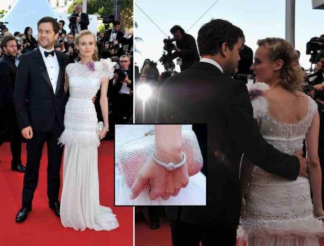 Joshua Jackson y Diane Kruger en Cannes 2012 Diane-23