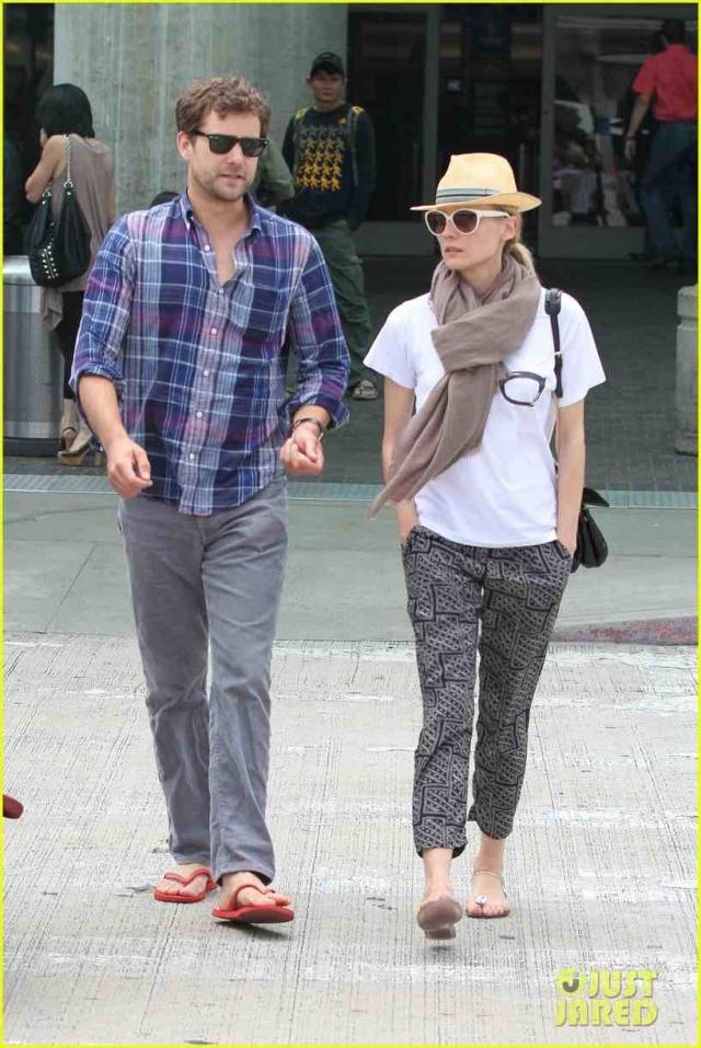 Joshua Jackson y Diane Kruger de vuelta en USA (Junio 2012) Diane-38