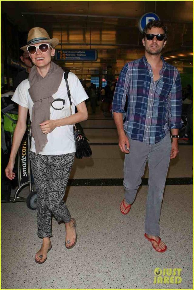 Joshua Jackson y Diane Kruger de vuelta en USA (Junio 2012) Diane-41