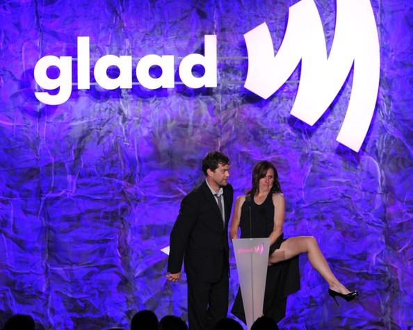Joshua Jackson en la 23 edición de los premios GLAAD Media Awards in Los Angeles Joshua22