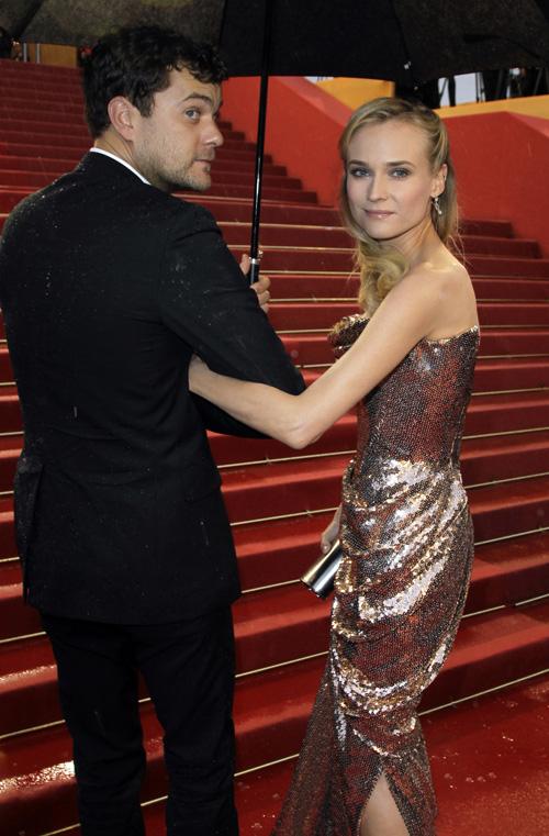 Joshua Jackson y Diane Kruger en Cannes 2012 Joshua29