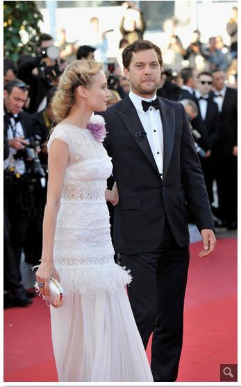 Joshua Jackson y Diane Kruger en Cannes 2012 Rtrrtr10