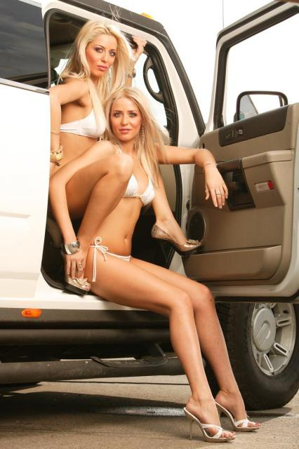 Pin-up en voiture américaine 32373410