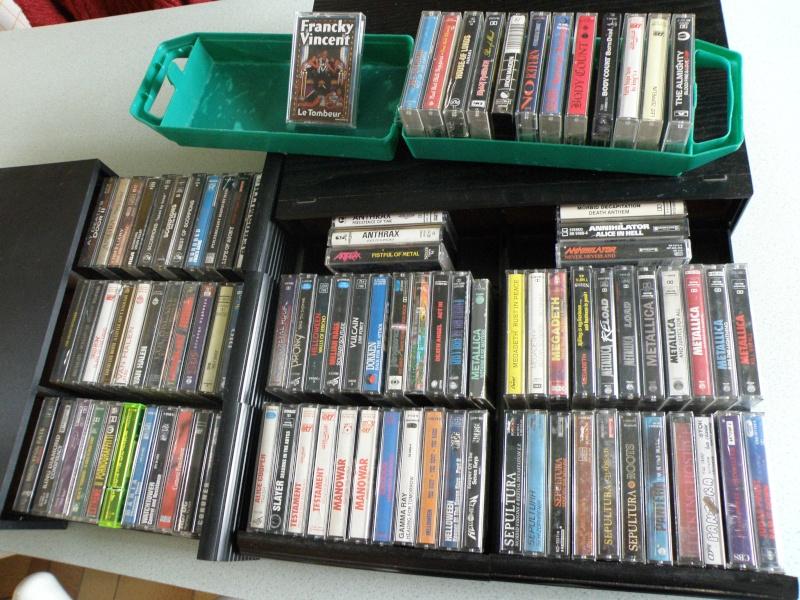 donne cassettes audio métal hard rock ... Pb210010